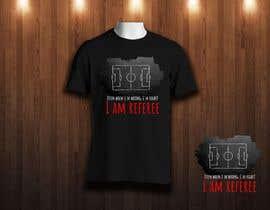 nº 28 pour Referee T-Shirt Design par josepave72