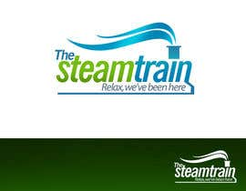 #235 dla Logo Design for, THE STEAM TRAIN. Relax, we've been there przez pinky