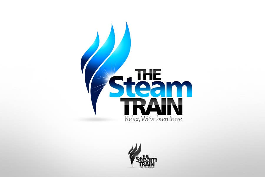 Contest Entry #153 for Logo Design for, THE STEAM TRAIN. Relax, we've been there