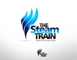 twindesigner tarafından Logo Design for, THE STEAM TRAIN. Relax, we've been there için no 153