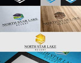 #75 for Logo Design for A northwoods resort in Minnesota USA called North Star Lake Resort af LuisMiguel93