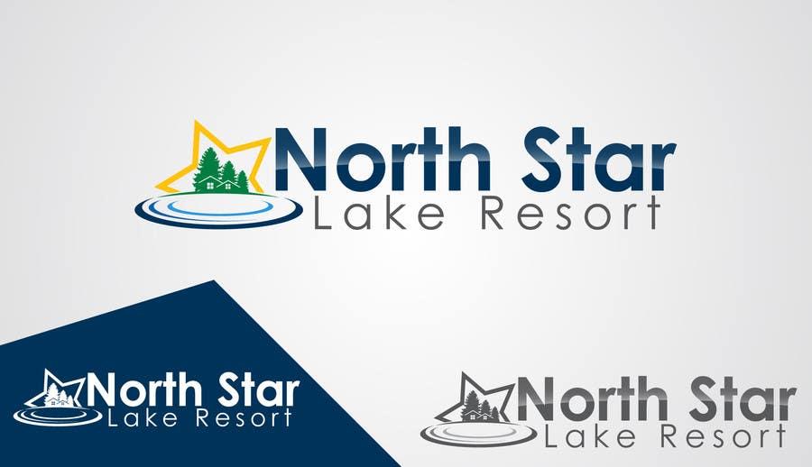 Konkurrenceindlæg #115 for Logo Design for A northwoods resort in Minnesota USA called North Star Lake Resort