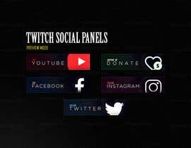 #56 para Design some banner icons for Twitch.Tv por madsaaeq