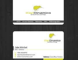 Nro 406 kilpailuun Kiwi Business Card Design käyttäjältä looterapro01