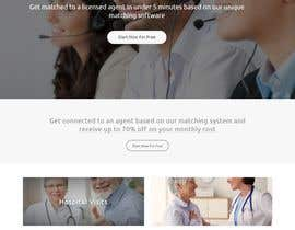 nº 52 pour Design my Landing page + Function Design par mihrana94