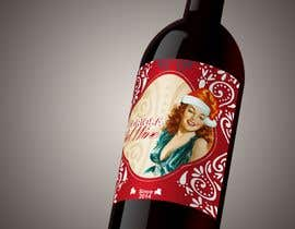 #42 para Front label for the X-Mas edition of a bottled red wine from Italy. por behzadkhojasteh