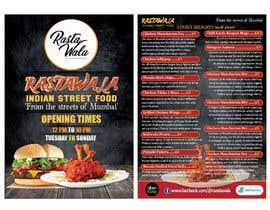Nro 11 kilpailuun Create a double sided full colour A5 takeout food menu. käyttäjältä parvezraton