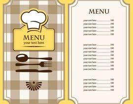 Nro 23 kilpailuun Create a double sided full colour A5 takeout food menu. käyttäjältä hadayethm1999