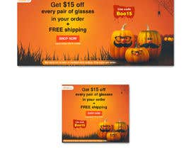 Nro 48 kilpailuun Halloween Banners käyttäjältä Mohidulhaque1