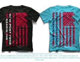#54 untuk VFW T-Shirt Design oleh sohel675678