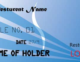 #105 , Design a Place card that looks like a credit card 来自 sabbirahmed3464