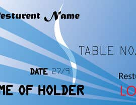 #106 , Design a Place card that looks like a credit card 来自 sabbirahmed3464