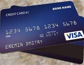 #107 , Design a Place card that looks like a credit card 来自 thenefy