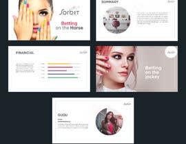 #25 для Design a Powerpoint template for a nail bar franchise presentation от Swaksart