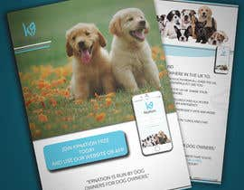 #25 para Design an eye-catching A5 flyer for print to attract dog owners attention de UmerFarooq889k