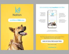 #39 para Design an eye-catching A5 flyer for print to attract dog owners attention de nikiramlogan