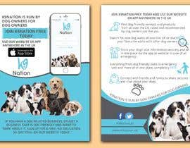 #12 para Design an eye-catching A5 flyer for print to attract dog owners attention de reazuljess2
