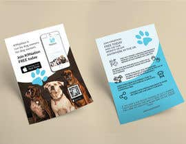 #4 para Design an eye-catching A5 flyer for print to attract dog owners attention de Attiladurko