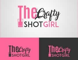 Nro 36 kilpailuun Design a Logo for TheCraftyShot Girl käyttäjältä Maritu92