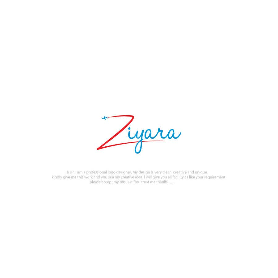 Entry #281 by raihankobir711 for logo Travel agency Ziyara | Freelancer