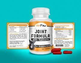 #150 untuk Label Design for Pet Vitamin Brand - JanPaw oleh fmfaruk