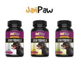 #180 untuk Label Design for Pet Vitamin Brand - JanPaw oleh CreativDes