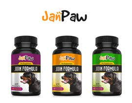 #181 untuk Label Design for Pet Vitamin Brand - JanPaw oleh CreativDes