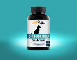 #146 untuk Label Design for Pet Vitamin Brand - JanPaw oleh rajitfreelance