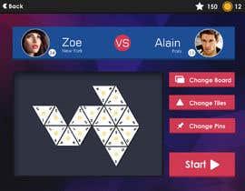 #76 for UI Design for a mobile game af arakelian