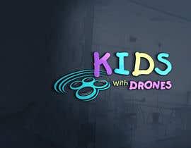 #41 Kids With Drones Logo Design részére flyhy által