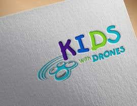 #43 Kids With Drones Logo Design részére flyhy által