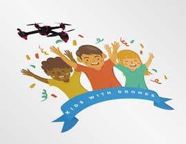 #11 Kids With Drones Logo Design részére anaet96 által
