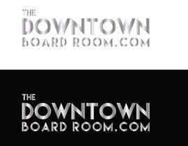 "#4 untuk Need Crisp/Clean Business logo designed for cleint ""The Downtown Board Room"" oleh mamun25g"