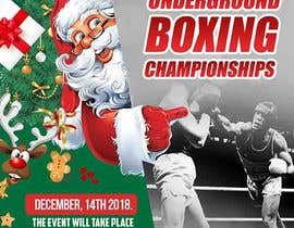 #48 untuk Design a Winter /holidayThemed Fight Poster oleh maidang34