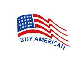 """Nro 219 kilpailuun Design """"Buy American"""" Logo käyttäjältä rifat007r"""
