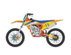 nº 3 pour Cartoon drawing of the orange bike made similar to the green one par ritasobreiro