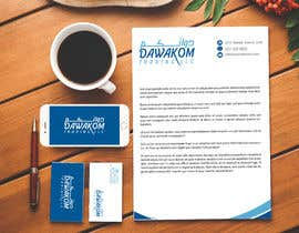 #608 for Dawakom logo and stationary Arabic/English af NabeelShaikhh