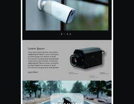 Číslo 5 pro uživatele Create a Landingpage Mockup for a Reseller of Smart Cameras od uživatele ahmed7najih