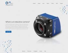 Číslo 12 pro uživatele Create a Landingpage Mockup for a Reseller of Smart Cameras od uživatele ZephyrStudio