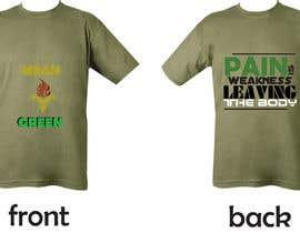 Nro 25 kilpailuun Mean Green Logo and catchphrase for team shirts käyttäjältä cbautista341