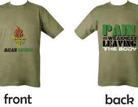 Nro 26 kilpailuun Mean Green Logo and catchphrase for team shirts käyttäjältä cbautista341