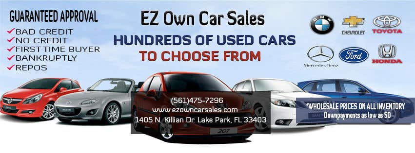 Bad Credit Car Dealerships >> Entry 3 By Hamzadesigns For Need A Facebook Banner For Car