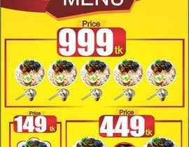 #17 for X-Banner Needed for Restaurant af ajmal32150