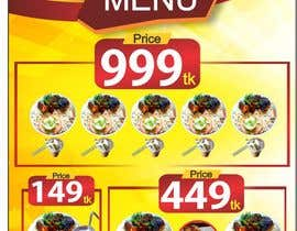 #28 for X-Banner Needed for Restaurant af ajmal32150