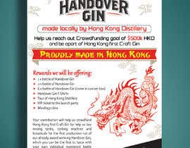 #48 for Design a crowdfunding pamphlet for Handover Gin by Mukul703