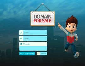 "#36 для Build a creative, single page ""Domain for sale"" HTML Template от mihrana94"