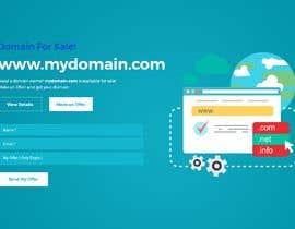 """Nro 48 kilpailuun Build a creative, single page """"Domain for sale"""" HTML Template käyttäjältä jaharaswapnil"""
