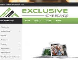 #71 para Design Logo for Exclusive Home Brands de dobreman14