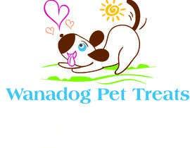 Nro 45 kilpailuun Logo for Wanadog Pet Treats käyttäjältä darkavdark
