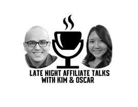 """#8 for Logo for """"Late Night Affiliate Talks with Kim & Oscar"""" Podcast by Hezeper"""